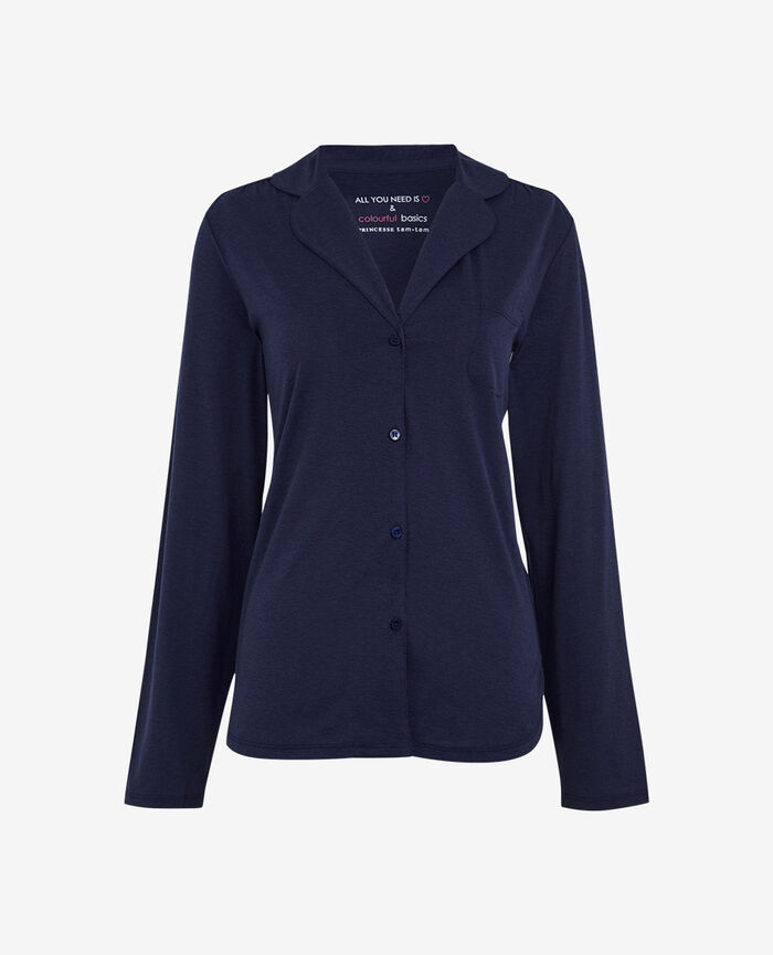 Jacket Navy Latte
