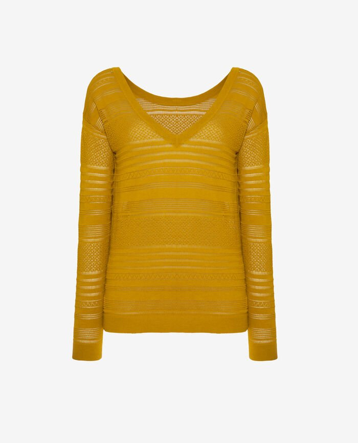 Jumper Jaune pickles Poeme