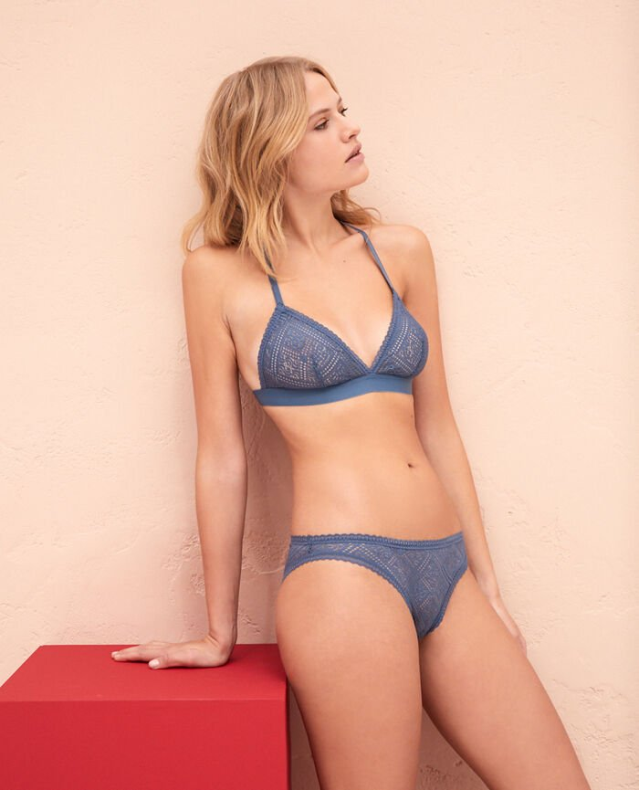 Soft cup bra Stormy blue Sonate