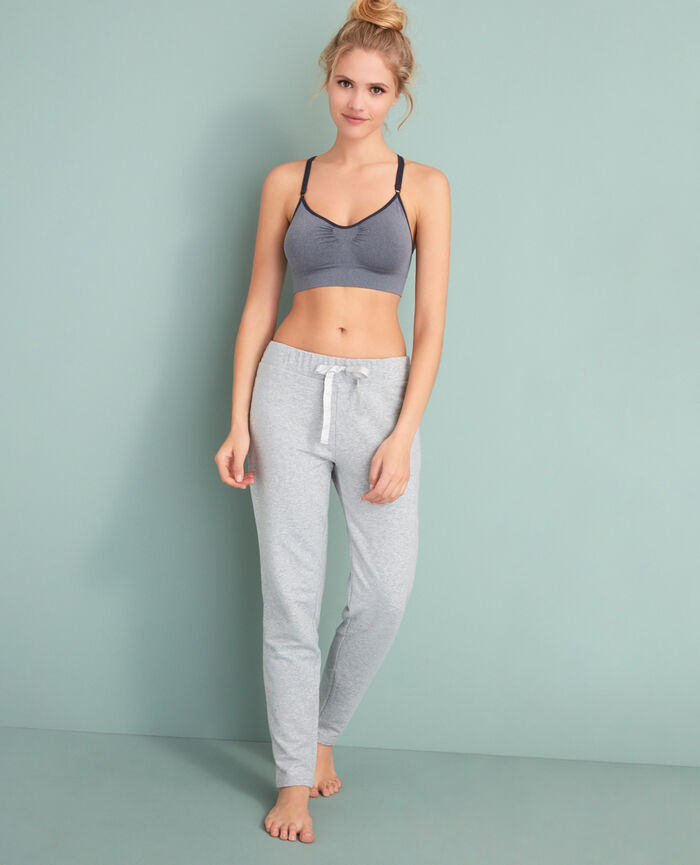 Sporty trousers Light grey Moove